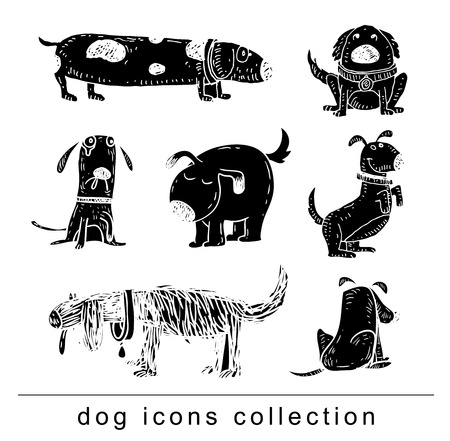 shepard: dog icon - vector illustration. Illustration