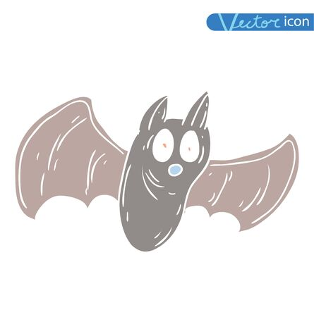 bat - Halloween vector illustration Illustration