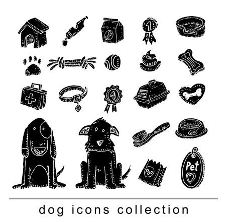 jack russel: Breed dog collection icon, vector. black