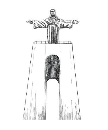 Santuário Nacional de Cristo Rei, Sagrado Coração de Jesus Lisbon, Portugal