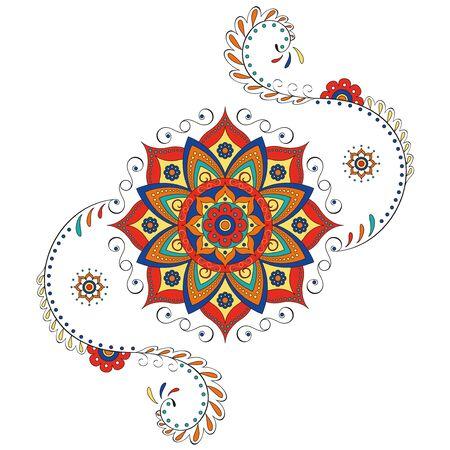 mandala: Mandala Hindu lotus Illustration