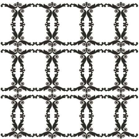 Romantic pattern illustration Vector