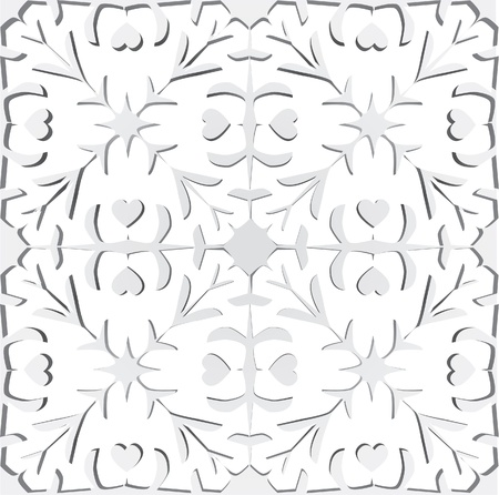 Paper cutting illustration Stock Vector - 12028495