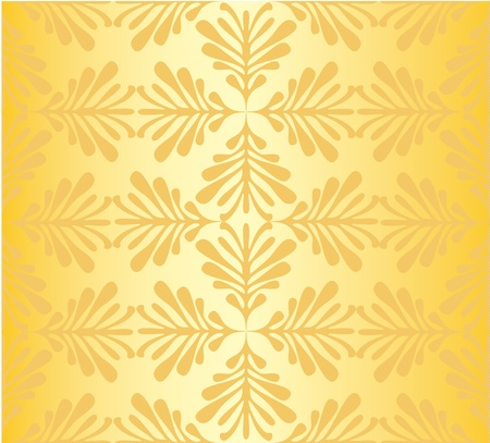 Classic damask pattern  Vector