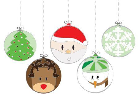 Christmas balls Stock Vector - 13616174