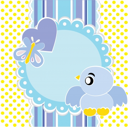 Baby background Stock Vector - 14234442