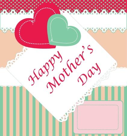 Feliz día de la madre s Ilustración de vector