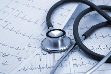 Stethoscope medical background