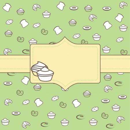 boulangerie: Cupcake label