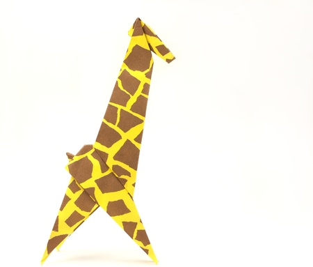 Origami Giraffe Stock Photo Picture And Royalty Free Image Image