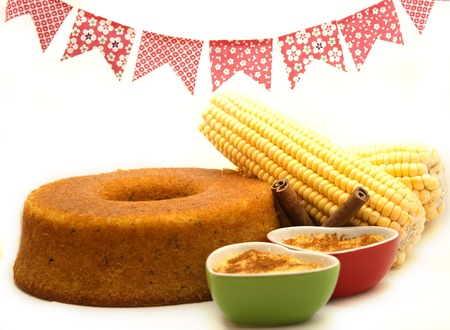traditional parties: Corn cake  Traditional Brazilian food