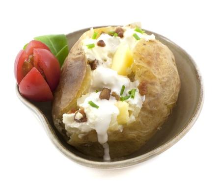 contorni: Patate al forno con panna, burro e pancetta Contorni