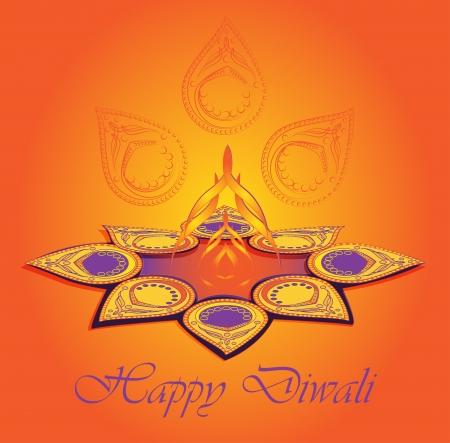 diwali background: Happy Diwali  Major Hindu holiday