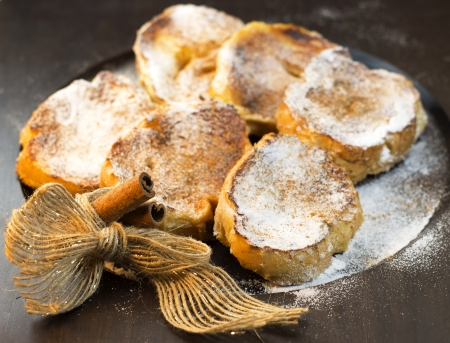 Brazilian rabanadas or Spanish torrijas