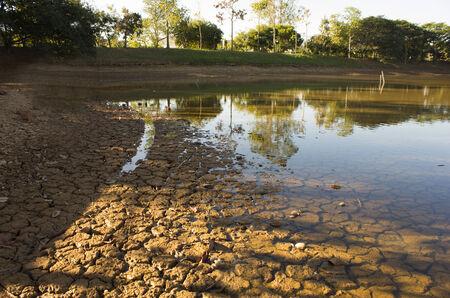 clod: Drying lake