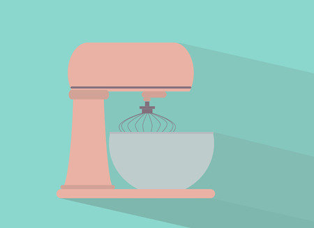 cake mixer: Cake mixer  Flat design