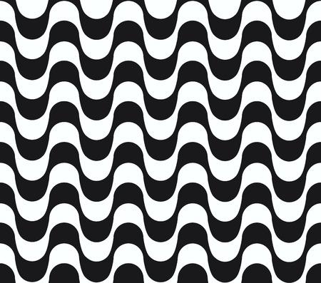 Copacabana waves seamless pattern.