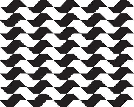 black wall: Sao Paulo geometric seamless pattern Illustration