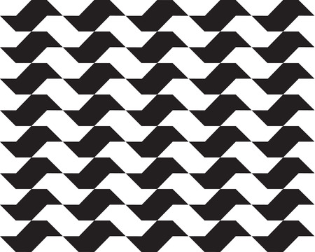 Sao Paulo geometric seamless pattern Illustration