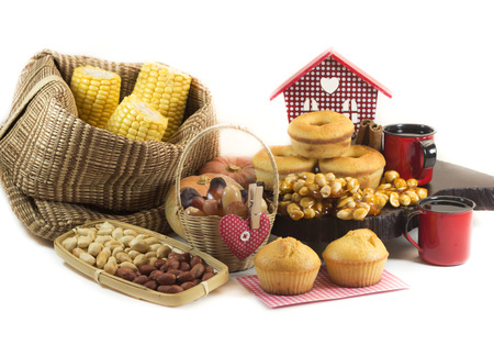 feast: Traditional Brazilian food for June feast.