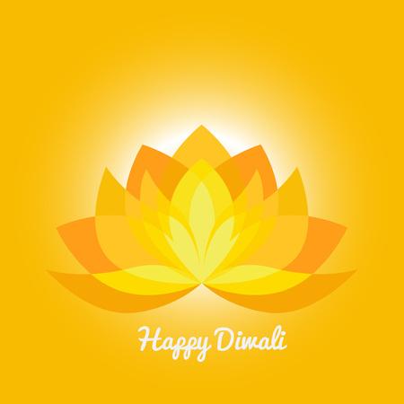 festival of lights: Happy Diwali background vector. Indian Indu light festival of lights.