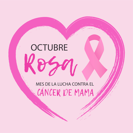 October cancer awareness month poster