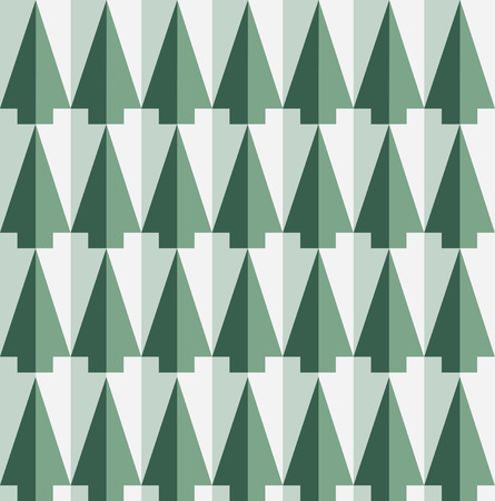 Pine trees pattern. Иллюстрация