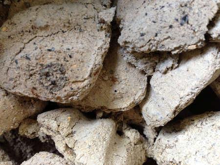 Seasoned charcoal texture Stock Photo