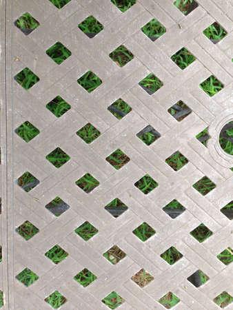 grid: Picnic table grid texture