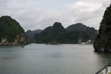 Image of halong bay view in vietnam Stock fotó