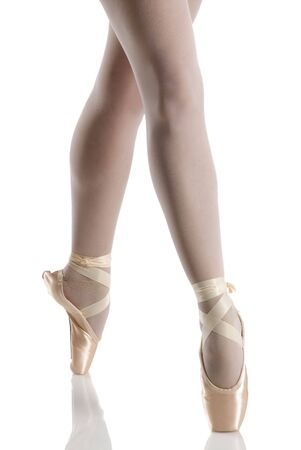 dancer in ballet shoes dancing in pointe Stock Photo - 1173707