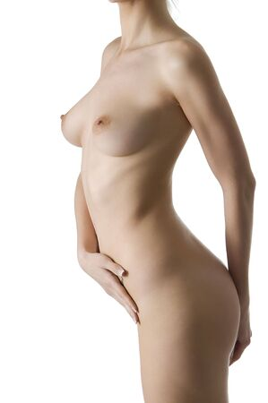 naked body of a young and attractive woman Stock Photo - 3083844