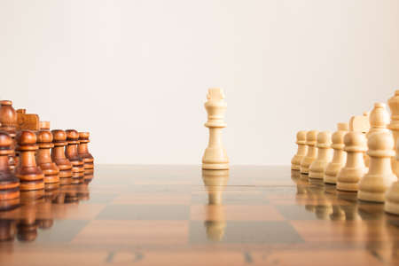 �chessboard: Chess photographed on a chessboard
