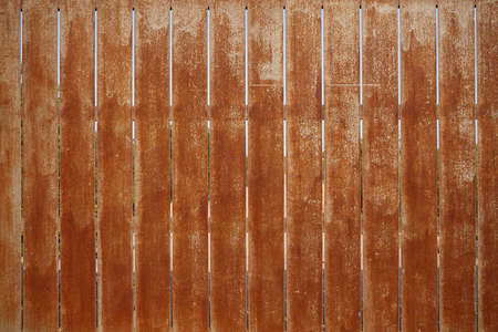 Vintage steel wall