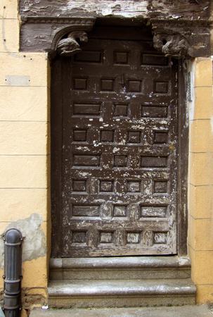 toledo: Abandonated old door in Toledo