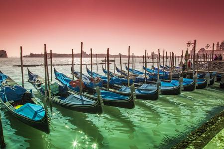 ing: Gondolas in Venice