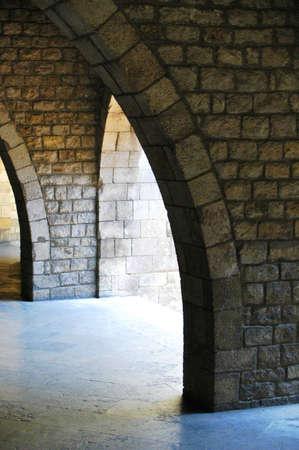 Stone arcs at Barcelona