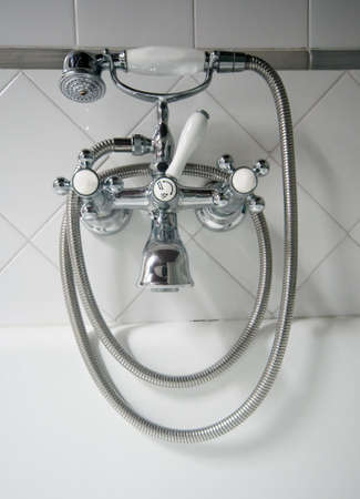 detail of vintage tap photo