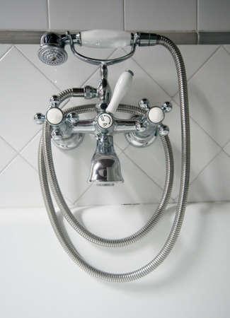 detail of vintage tap photo