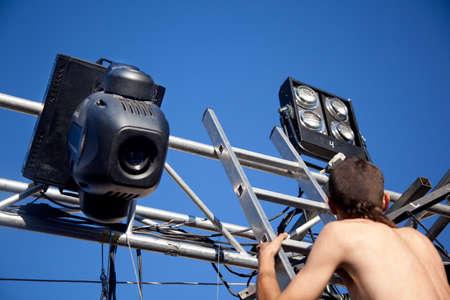 lighting technician: lighting technician