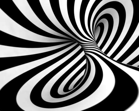 rotate: Abstract background in black and white