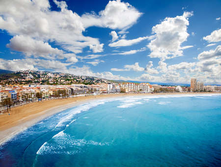 airlie: Beach Coast at Spain Stock Photo