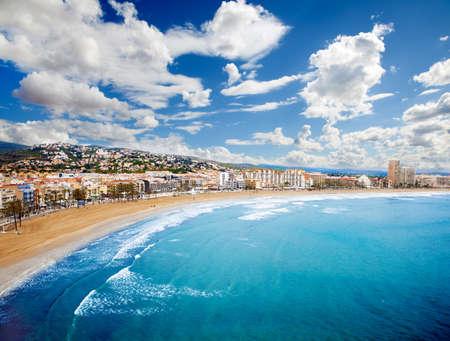 airlie: Beach Coast at Spain Stock Photo