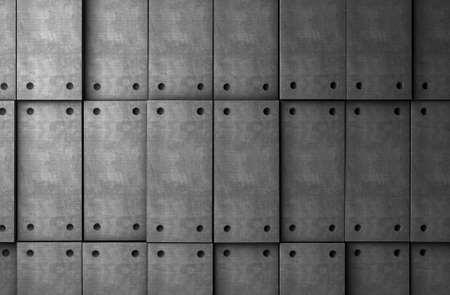 Abstract background cement blocks in gray toned photo