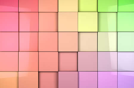 coloful: Coloful abstract tiles cubes background