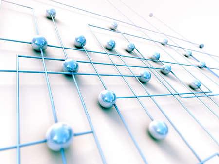 Netzwerk-und Internet-Konzept Technologie Hintergrund
