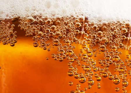 Abstract background beverage and bubbles Archivio Fotografico