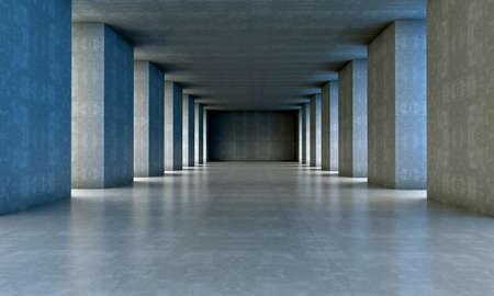 3d architecture.cement structure  Archivio Fotografico