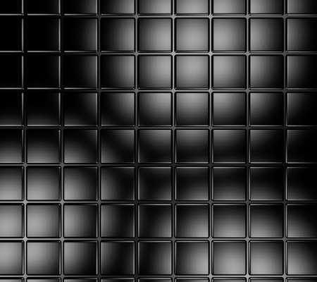 distorted: Black shiny tile surface background