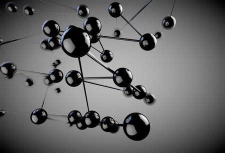 Estratto networking e il concetto socio Archivio Fotografico - 18585974